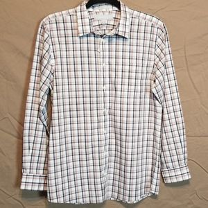 NWOT Nordstrom Men's Plaid Long Sleeve Button Down
